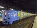 [鉄道][キハ261系][貫通幌]スーパー宗谷4号(キハ261-104側)/札幌駅2008.07.25