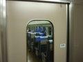 [鉄道][新幹線]こだま674号車内(R67編成26-7210:2号車)デッキ仕切扉(100系タイプ)/08.11.29