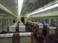 [鉄道][新幹線]こだま674号車内(0系R67編成1号車:21-7951)/新神戸駅2008.11.29