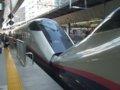 [鉄道][新幹線]★013:はやて17号(E224-1009)+こまち17号(E311-25)連結部分/東京駅2008.12.12