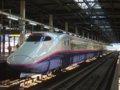 [鉄道][新幹線]★024:新幹線E2系J13編成10連(E224-126側)/盛岡駅2008.12.12