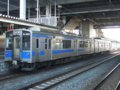 [鉄道][貫通幌][701系]☆010:青い森鉄道701-1(Mc)+700-1(Tc)/八戸駅081213
