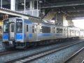 [鉄道][貫通幌][701系]☆011:青い森鉄道701-1(Mc)+700-1(Tc)/八戸駅081213