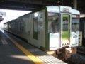 [鉄道][キハ100系][貫通幌]☆023:キハ100-204+205(快速しもきた3726D)/八戸駅到着081213