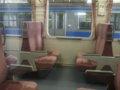 [鉄道][キハ100系]☆027:キハ100-204車内(快速しもきた3726D)/八戸駅到着081213