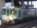 [鉄道][キハ100系][貫通幌]☆030:キハ100-204+205(快速しもきた3726D)/八戸駅到着081213