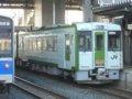 [鉄道][キハ100系][貫通幌]☆033:キハ100-205+204(快速しもきた3726D)/八戸駅到着081213