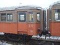 [鉄道][貫通幌]☆066:津軽鉄道ナハフ1203(左)+1202(右)/津軽五所川原駅081213