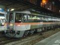 [鉄道][キハ85系][貫通幌]特急ワイドビューひだ34号(キハ85-1111)/大阪駅2005.1