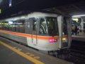 [鉄道][キハ85系][貫通幌]特急ワイドビューひだ34号(キハ85-111側前頭部)/大阪駅2002.11