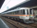 [鉄道][キハ85系][貫通幌]特急ワイドビューひだ23号(キハ85-1112側)/大阪駅2006.9