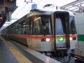 [鉄道][キハ85系][貫通幌]特急ワイドビューひだ23号(キハ85-202側)/大阪駅2007.12