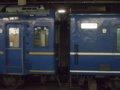 [鉄道][貫通幌]248:急行はまなす(オハネフ25-216(左)連結面)/札幌駅2008.07.26