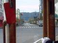 [鉄道][風景]★074:函館市電箱館ハイカラ號(No.39)車窓/松風町交差点051023