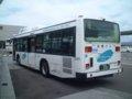 [バス]★098:函館バス日野ブルーリボンハイブリッド゙(ACG-HU8JMFP)/函館駅前