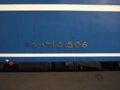 [鉄道]263:急行はまなす(スハフ14-506車番表示)/札幌駅2008.07.27