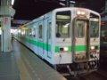[鉄道][キハ143系][貫通幌]札沼線587D(キハ143-103側)ホーム側から/札幌駅2008.07.25