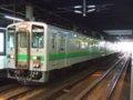 [鉄道][キハ143系][貫通幌]札沼線587D(キハ143-103側)/札幌駅2008.07.25
