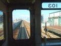 [鉄道][キハ143系]札沼線587D(キハ143-103から)新川駅発車/2008.07.25