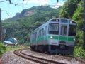 [鉄道][721系]278:721系F-4203(+4103)編成(Tc721-4203側)/朝里海水浴場付近2008.07.26