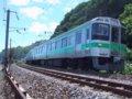[鉄道][721系]279:721系F-4204(+4104)編成(Tc721-4204側)/朝里海水浴場付近2008.07.26