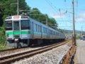 [鉄道][721系]280:721系F-3103(+3203)編成(Tc721-3103側)/朝里海水浴場付近2008.07.26