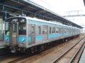 [鉄道][121系][貫通幌]JR四国121系電車(Tc120-12+Mc121-12)/坂出駅2006.04