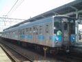 [鉄道][121系][貫通幌]JR四国121系電車(Tc120-18+Mc121-18)/多度津駅2006.04