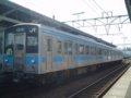 [鉄道][121系][貫通幌]JR四国121系電車(Mc121-18+Tc120-18)/多度津駅2006.04