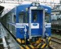 [鉄道][貫通幌][台湾][台鐵EMU500]台湾鐵路管理局EMU500形EM558(3)別カット画角修正後:基隆駅1998.01