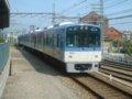 [鉄道]☆阪神5500系5518(Mc)折り返し西九条行き到着/尼崎駅2002.05