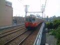 [鉄道][貫通幌]☆阪神7801形(7839F+7838F)西大阪線・西九条行き/千鳥橋駅2005.05