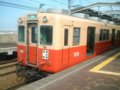 [鉄道][貫通幌]☆阪神7801形7838(Mc)/西大阪線西九条駅2002.05