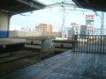 [鉄道][駅][風景]☆阪神西大阪線・西九条駅車止め/2002.05