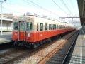 [鉄道][貫通幌]☆阪神7801形7837F(7961Tc+7861Mc+7937T+7837Mc)/大物駅2004.12