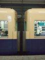 [鉄道][貫通幌]☆阪神5333M+5332M連結面/西九条駅2007.05