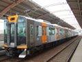 [鉄道][貫通幌]阪神1000系1502F(Mc1502側)+1501F/千鳥橋駅2007.10