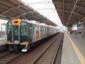 [鉄道][貫通幌]阪神1000系1502F(Mc1502側)+1501F/千鳥橋駅出発2007.10