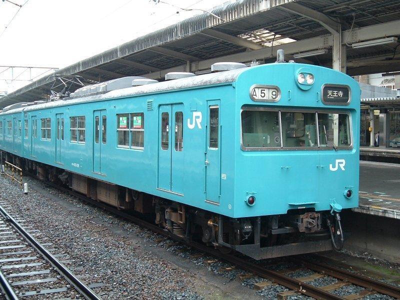 ★大ヒネ103系J419編成(クモハ103-129)和歌山駅2004.05