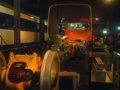 [交通科学博物館][鉄道]★交通科学博物館・キハ58系エンジン模型(手前)101系電車(奥)2002.05