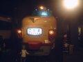 [交通科学博物館]★交通科学博物館・こだま型151系特急電車(モックアップ)2002年5月