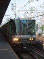 [鉄道][223系]☆002:敦賀行き新快速(Mc223-2080側)/三ノ宮駅090724