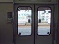 [鉄道][521系]☆039:北陸本線243M(Tc521-3車内ドアスイッチ)/敦賀駅090724