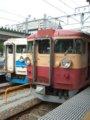 [鉄道][475系][貫通幌]☆098:(左)355M(Tc455-47)/(右)549M(Tc455-18)/富山駅090724