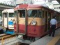 [鉄道][475系][貫通幌]☆099:(左)355M(Tc455-47)/(右)549M(Tc455-18)/富山駅090724