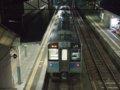 [鉄道][E127系][貫通幌]☆219:大糸線332M・E127系A4編成(McE127-104側)/南小谷駅跨線橋