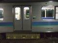 [鉄道][E127系]☆222:大糸線332M(TcE126-104車番表示)/南小谷駅090724