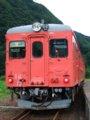 [鉄道][キハ20系][貫通幌]☆287:南小谷行422D(キハ52-156)/平岩駅090725