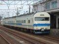 [鉄道][419系]☆320:北陸本線525M(金フイ419系D3編成Mc419-3側)/糸魚川駅到着090725