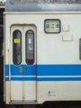 [鉄道][419系]☆323:北陸本線525M(金フイ419系D3編成Mc419-3側面行先表示幕)/糸魚川駅090